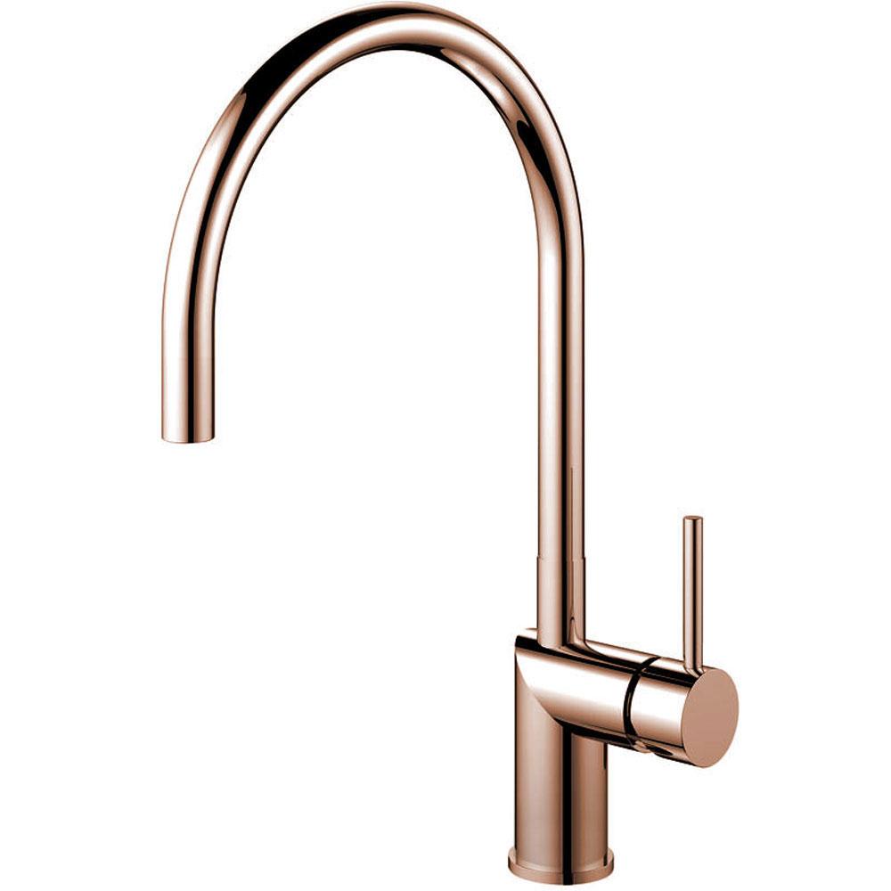 Copper Single Hole Kitchen Faucet - Nivito RH-170