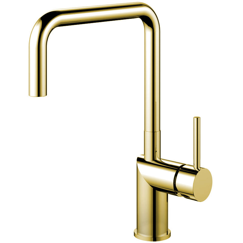 Brass/Gold Single Handle Kitchen Faucet - Nivito RH-360