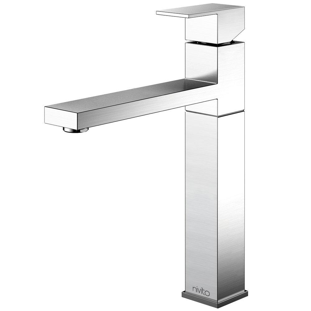 Stainless Steel Kitchen Faucet - Nivito SU-100