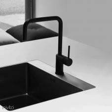 Black faucet single hole single handle