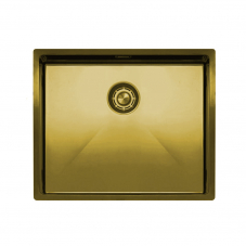 Brass/Gold Kitchen Sink - Nivito CU-500-BB