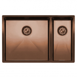 Copper Kitchen Sink - Nivito CU-500-180-BC