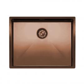Copper Kitchen Sink - Nivito CU-550-BC