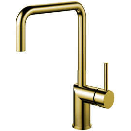 Brass/Gold Single Hole Kitchen Faucet - Nivito RH-340