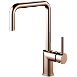 Copper Single Hole Kitchen Faucet - Nivito RH-370